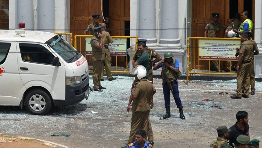 فيديو وصور| تفجيرات سريلانكا.. عشرات القتلى ومئات المصابين تزامنا مع «عيد الفصح»