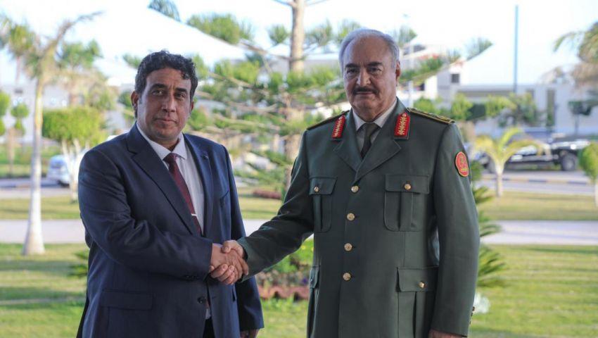 فيديو| مع  بدء تشكيل الحكومة.. ما هو دور «حفتر» في ليبيا؟