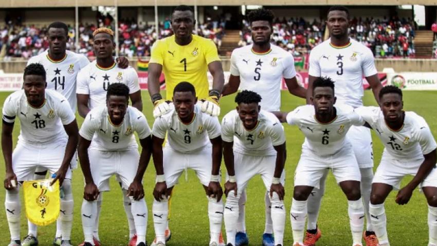 إنفوجراف| أمم أفريقيا 2019..  تشكيل منتخب غانا أمام بنين