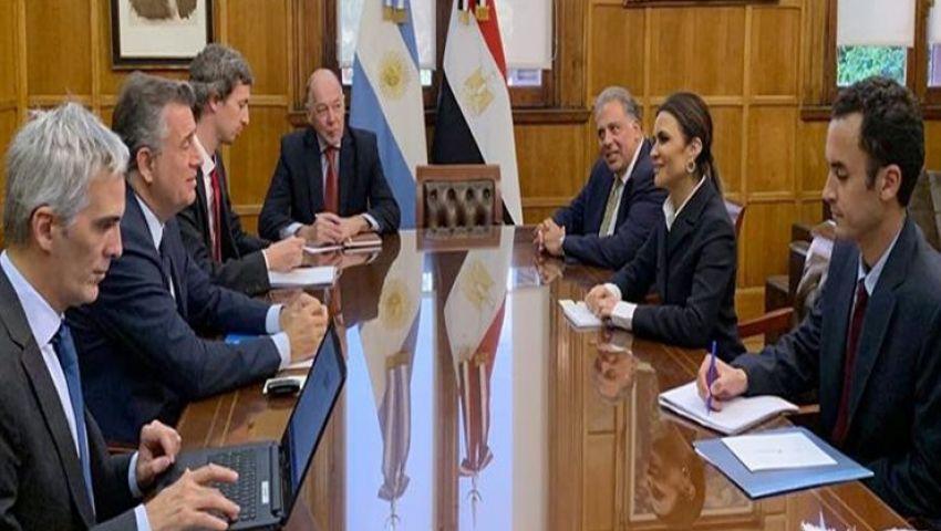 مصر والأرجنتين تتفقان على إحياء اللجنة المشتركة للتعاون الاقتصادي