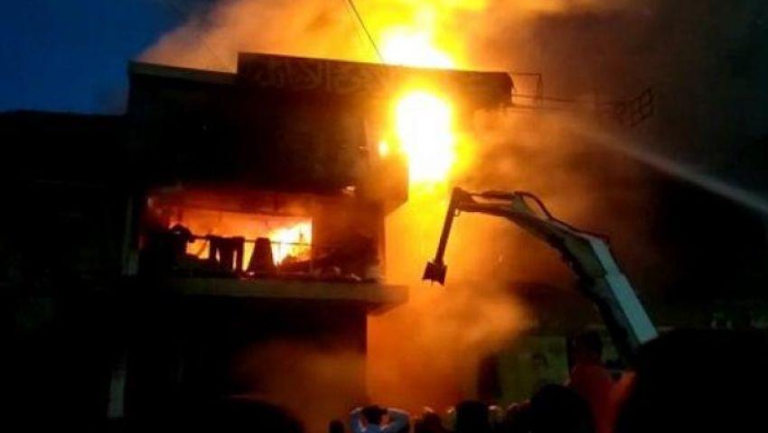 حرائق الموسكي والغورية| كارثة كل عام.. خسائر بالجملة وبطولات لـ«رجال الإطفاء»