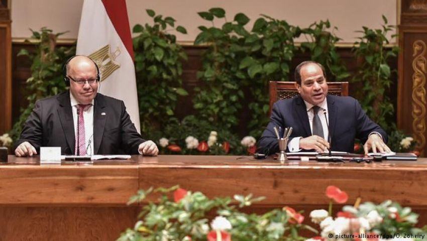 وزير الاقتصاد الألمانى: البطالة فى مصر انخفضت لكن أوضاع حقوق الإنسان خطيرة
