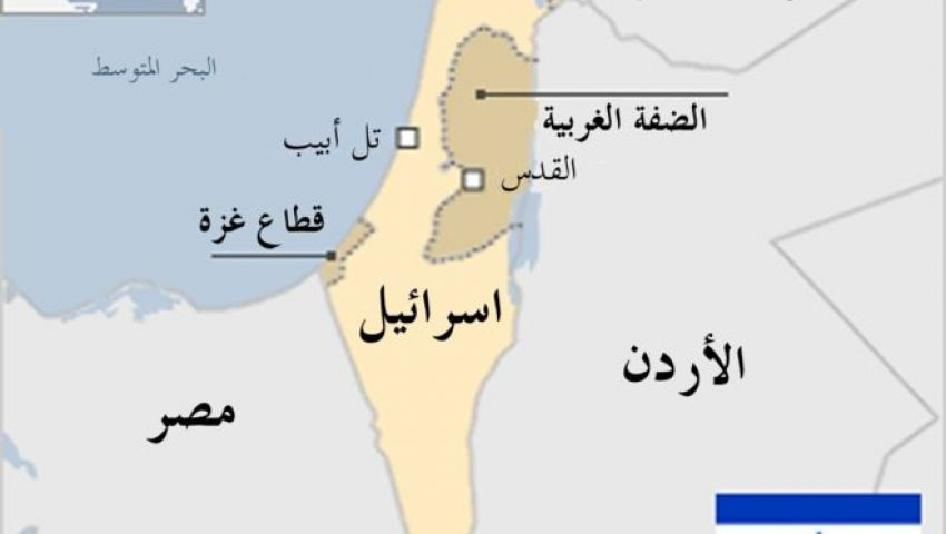 حقيقة وجود خريطة تعترف بإسرائيل على تابلت أولى ثانوي
