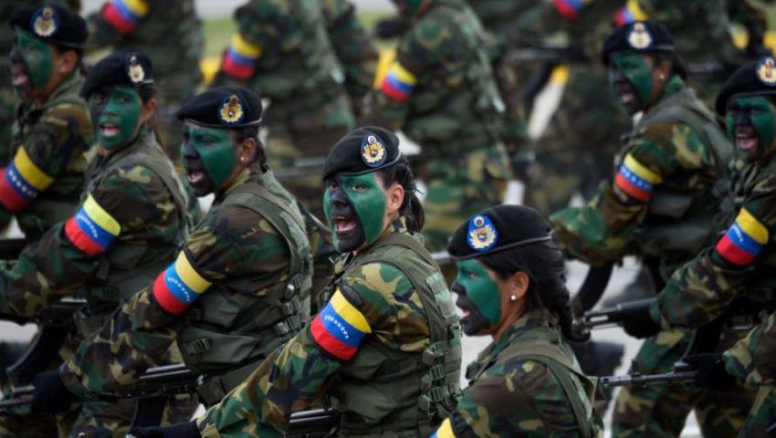 الجيش الفنزويلي يرد على ترامب: المعارضة لن تعزل مادورو إلا على جثثنا