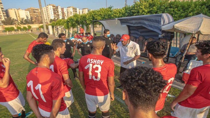 شباب الفراعنة يواصلون الاستعداد لبطولة شمال أفريقيا