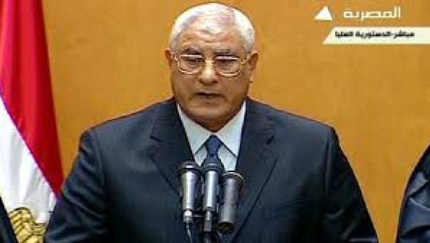 منصور يصدر قرارا بحظر التجوال بعدة محافظات
