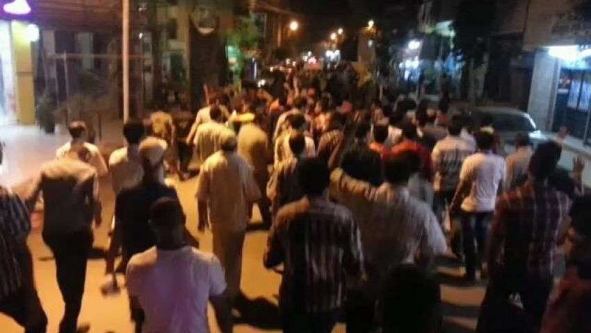 مسيرات ببني سويف تهتف لغزة وتطالب بالإفراج عن المعتقلين