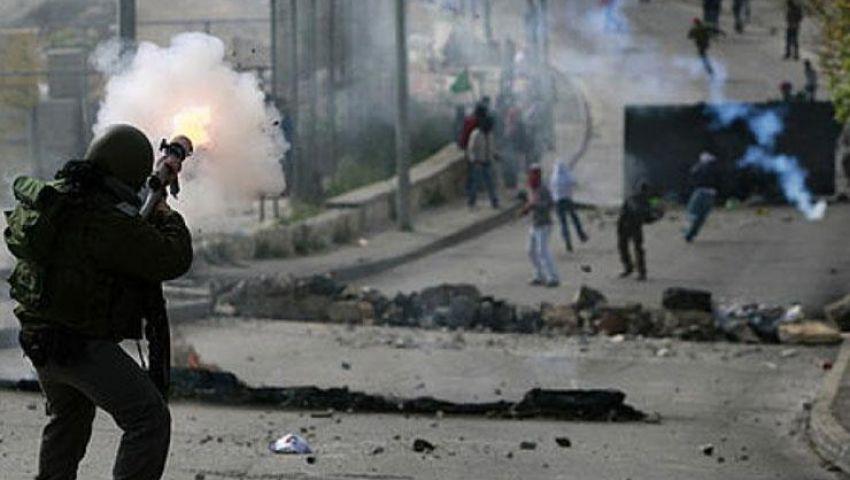 إصابة فلسطينيين خلال مواجهات مع الاحتلال في القدس