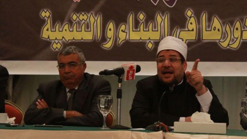 وزير الأوقاف يرفض المساهمة فى مشروع فندق اللسان برأس البر