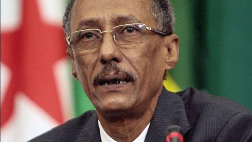 وزير خارجية موريتانيا يغادر القاهرة