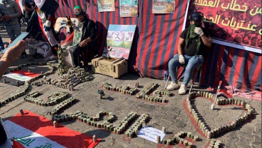 العراق| «رايتس ووتش»: قنابل الغاز المسيل للدموع تقتل المتظاهرين