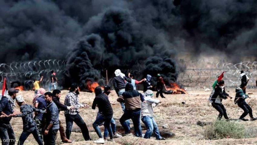 استشهاد 3 فلسطينيين وإصابة عشرات في الضفة الغربية