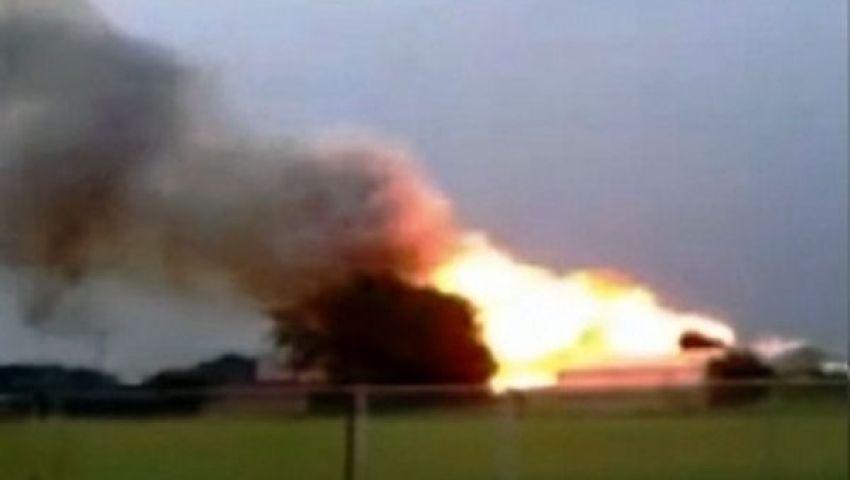 مصرع 2 وإصابة 15 مجندًا في انفجار بأسيوط