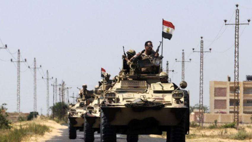 إصابة مجندين برصاص مجهولين شمال سيناء