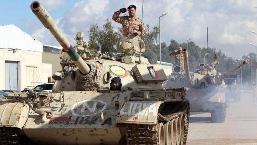 قوات حفتر تسيطر على كتيبة لثوار بنغازي