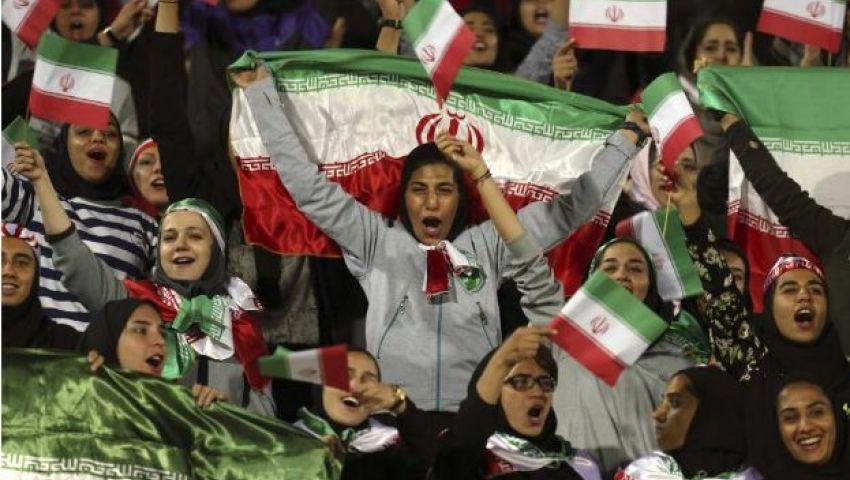 إيران| «رايتس ووتش»: تحديد المقاعد المخصصة للنساء في الملاعب يعرضهن للخطر