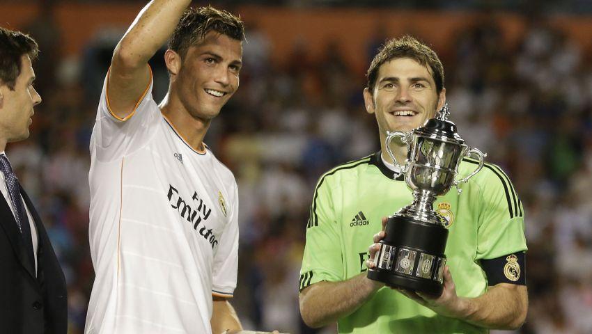 كاسياس: رونالدو يستحق الكرة الذهبية