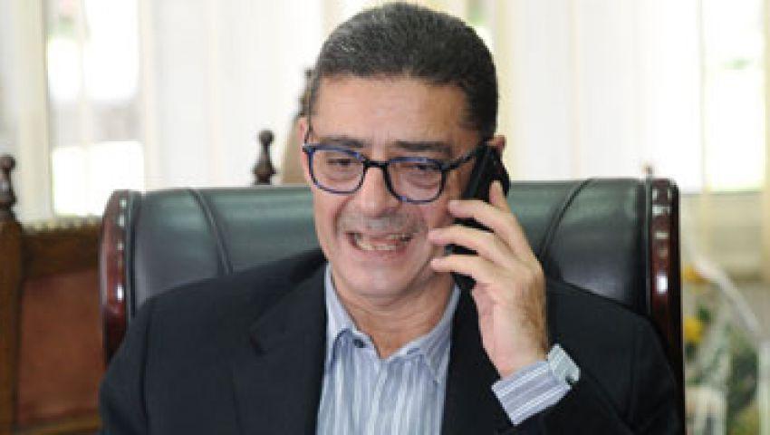 محمود طاهر يهنئ «رجال طائرة الأهلي» باللقب الأفريقي