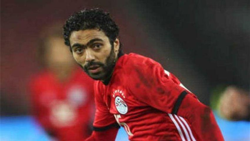 تعرف على حجم إصابة حسين الشحات في مباراة مصر وليبيريا