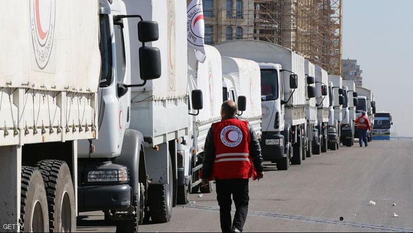 سوريا.. إدخال مساعدات لبلدات محاصرة