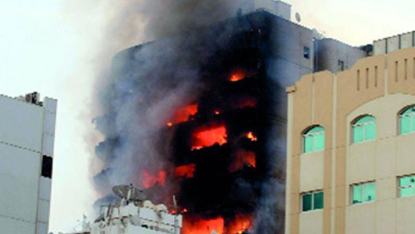 حريق بمضيفة لإقامة الشعائر للمسيحيين بالمنوفية