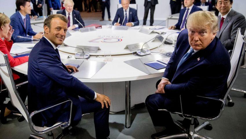 فيديو| ترامب وزملاؤه.. «شجار» بسبب روسيا يُعكِّر صفو قمة مجموعة السبع