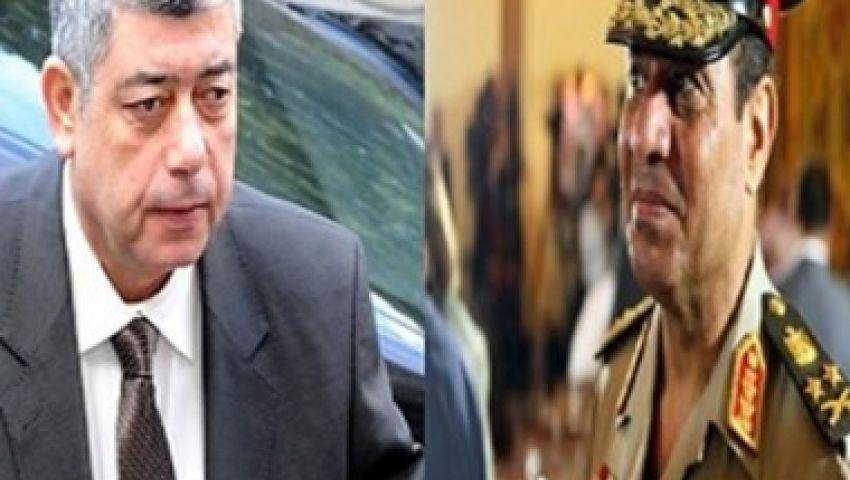 السيسي يتوعد أنصار مرسي ويدعوهم إلى مراجعة موقفهم