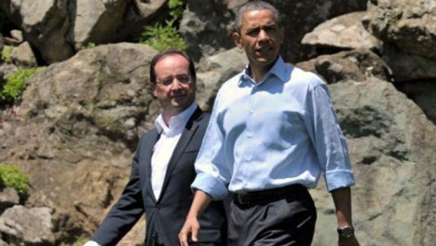 أزمة سوريا تعزل أولاند وأوباما بقمة العشرين