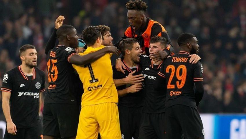فيديو| تشيلسي يخطف فوزًا ثمينًا من أياكس بدوري أبطال أوروبا