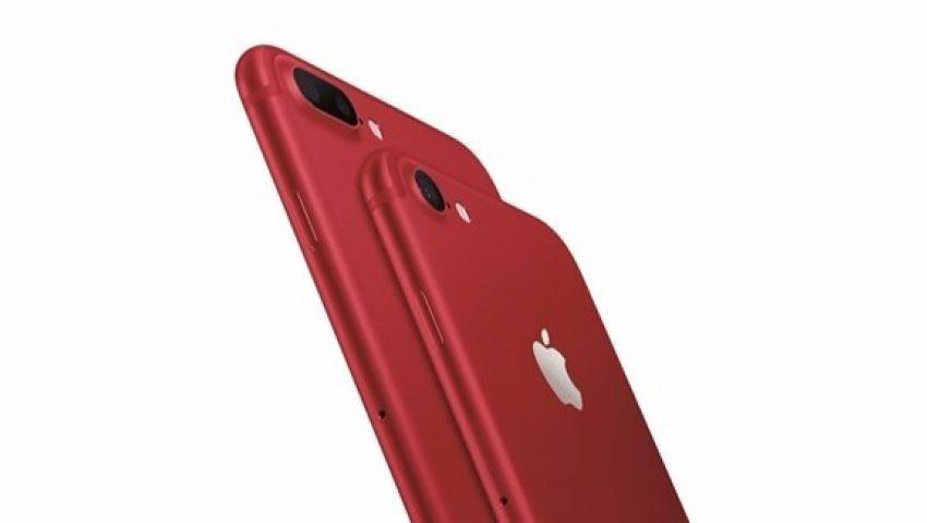 Apple تكافح الإيدز بنسخة حمراء من IPhone7