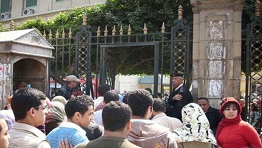 طلاب علوم القاهرة يتظاهرون لإقالة رئيس الكنترول