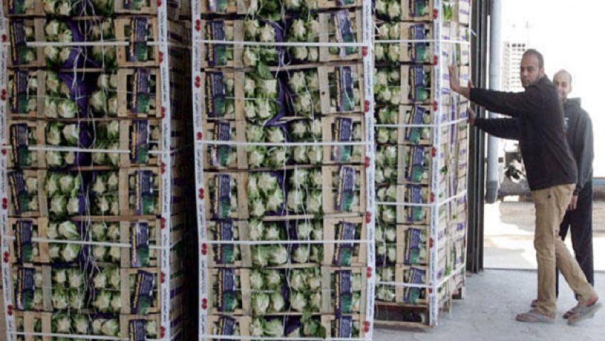 الزراعة: تصدير 5 آلاف طن من الخضر والفاكهة اليوم