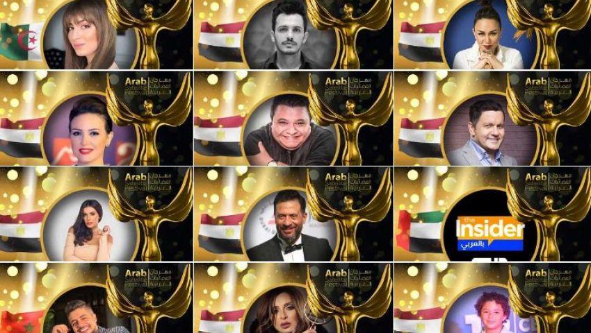 بالصور| أسماء الفائزين بجوائز مهرجان الفضائيات العربية 2019