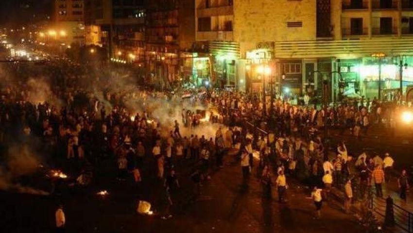 إطلاق نار كثيف على أنصار مرسي من مجهولين يعتلون المباني الجامعية