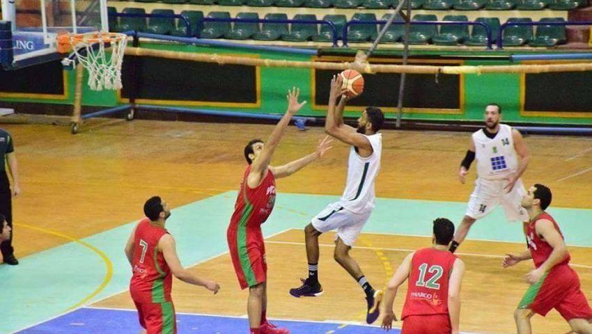 سبورتنج يهزم الاتحاد في ديربي اسكندرية بدوري سوبر السلة