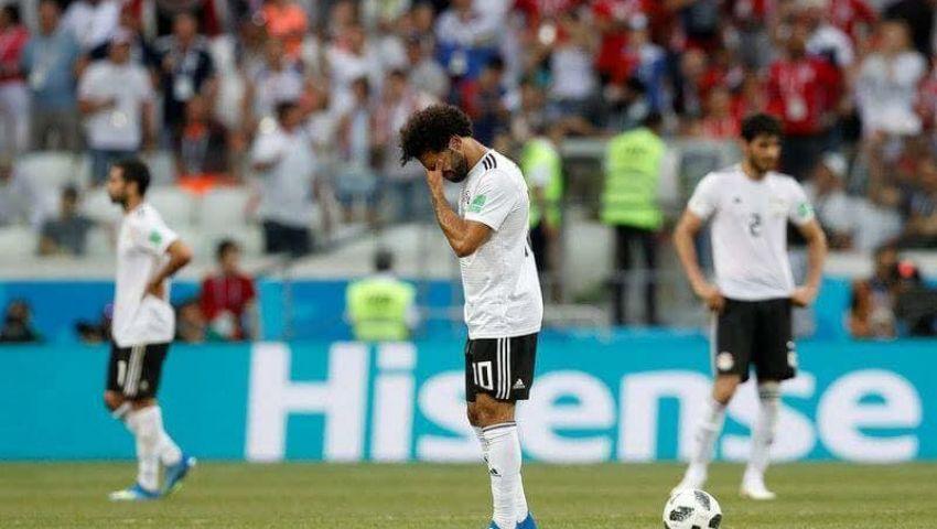 فيديو وصور  9 أرقام شهدتها مباراة مصر والسعودية بالمونديال