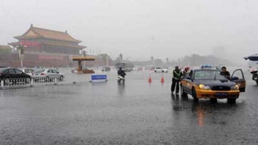 مصرع 30 فى عواصف ممطرة بالصين