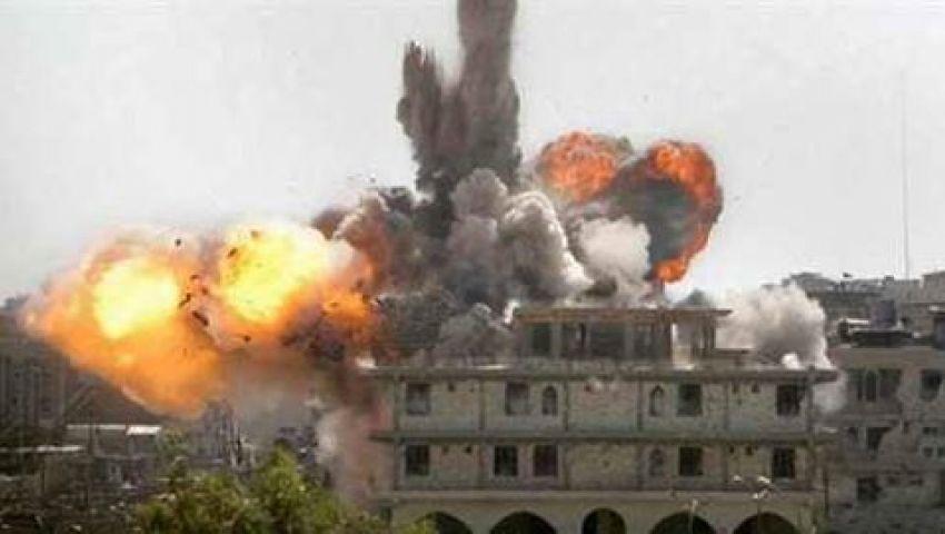 تفجير مدرسة أبو طويلة  الإعدادية بالشيخ زويد