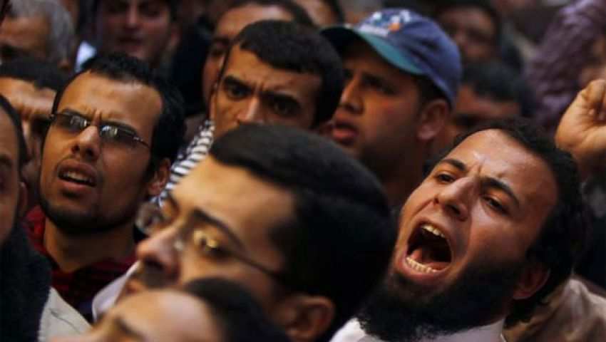 مسيرة للتيارات الإسلامية في الغردقة لتأييد مرسي