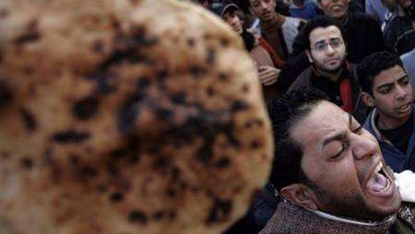 شراء الخبز وراء إصابة مواطن في المحلة