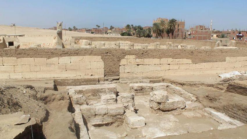 اكتشاف نادر بمعبد رمسيس الثاني .. تعرف على التفاصيل