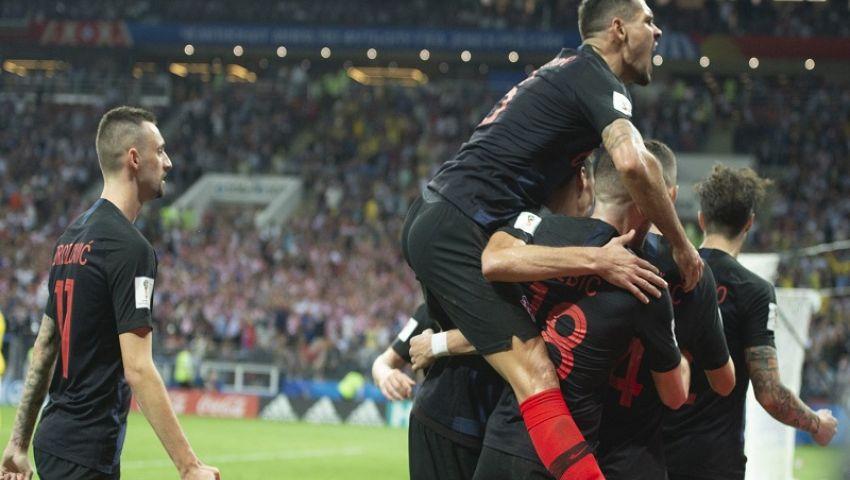 بالصور| كرواتيا تقهر إنجلترا وتبلغ نهائي كأس العالم لأول مرة بتاريخها