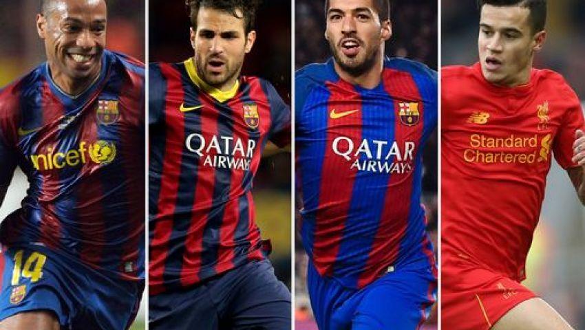 الطريق إلى النجوم.. مراحل برشلونة السبع للتوقيع مع اللاعبين