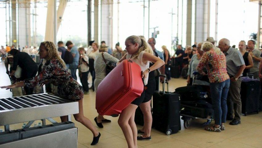 فيديو  السبت ..عودة الرحلات الألمانية إلى مطار شرم الشيخ