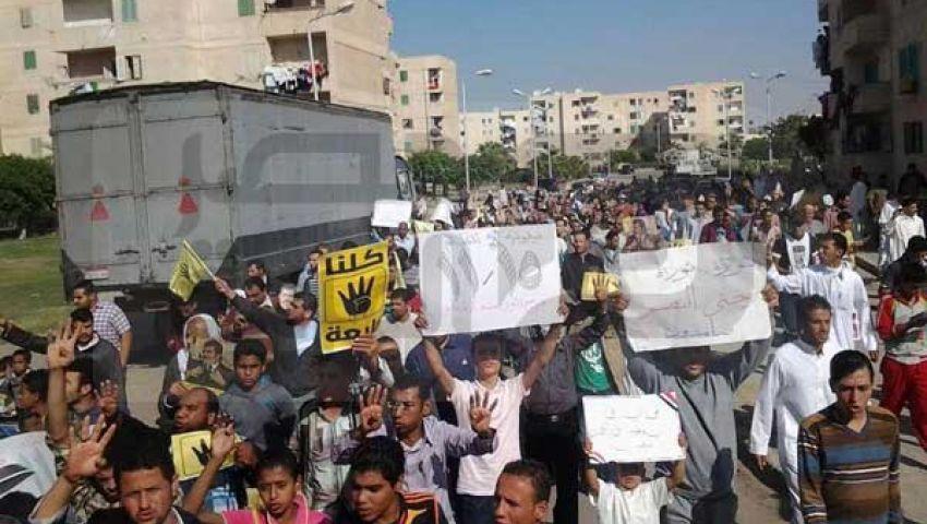 أنصار مرسي بالإسكندرية: يسقط يسقط حكم السيسي