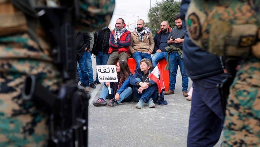 مظاهرات ودعوة للإضراب.. الشارع اللبناني يعرقل منح الثقة لـ «حسان دياب»