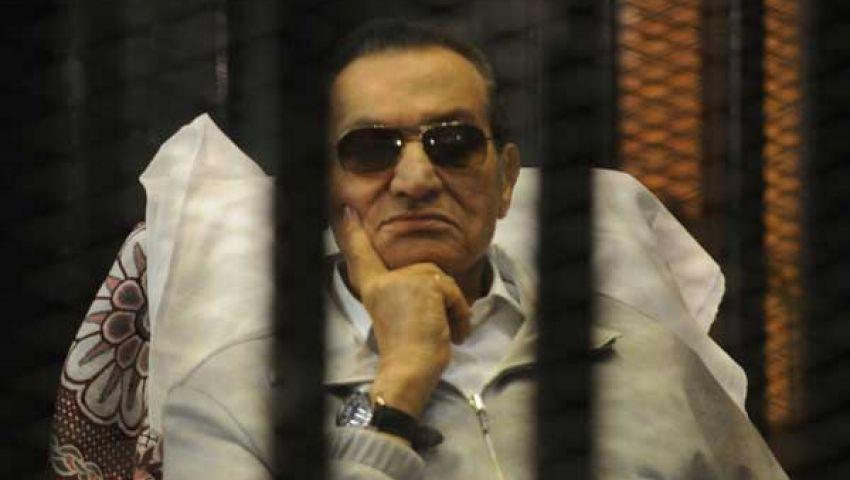 مصدر قضائي:النيابة ستطلب غدا تجديد حبس مبارك