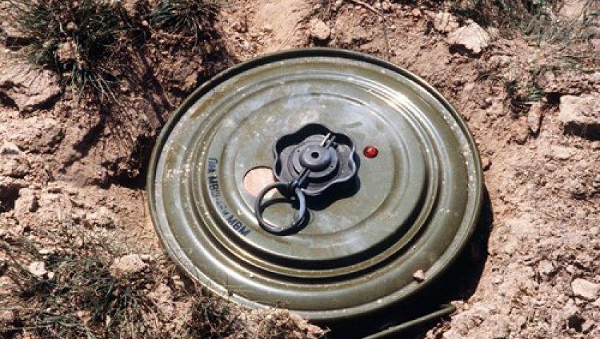 إصابة عامل في انفجار لغم من مخلفات الحروب شرق قناة السويس