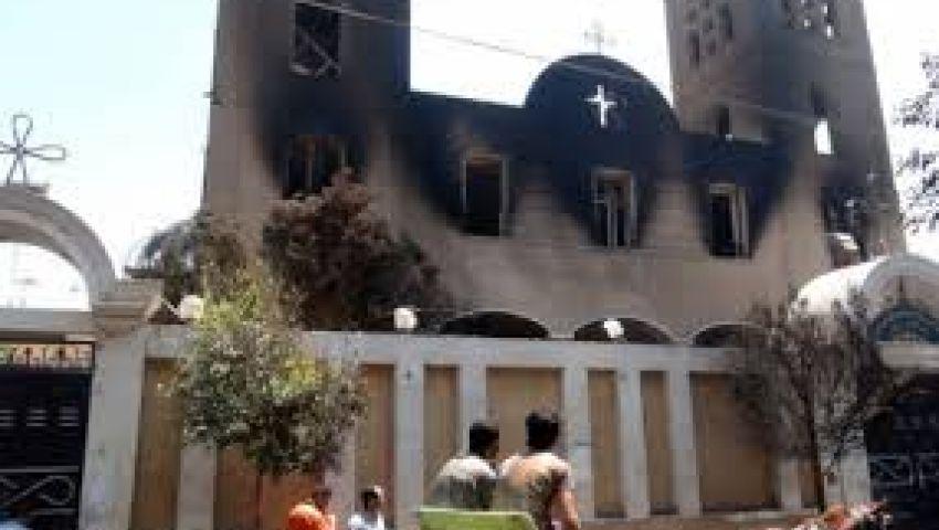 إصابة 4 شرطيين في هجوم على كنيسة ببورسعيد