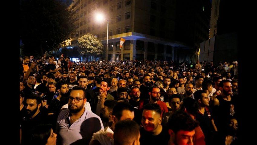 بخراطيم المياه.. الأمن العراقي يفرق المتظاهرين أمام المنطقة الخضراء
